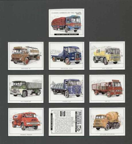 Golden Era - Set Of 10 Classic Lorries Of The 60's