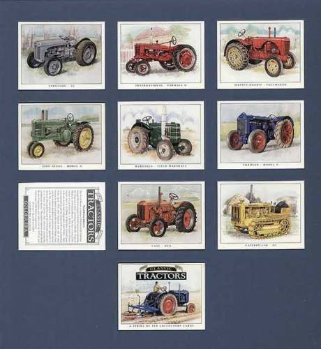 Golden Era - Set Of 10 Classic Tractors
