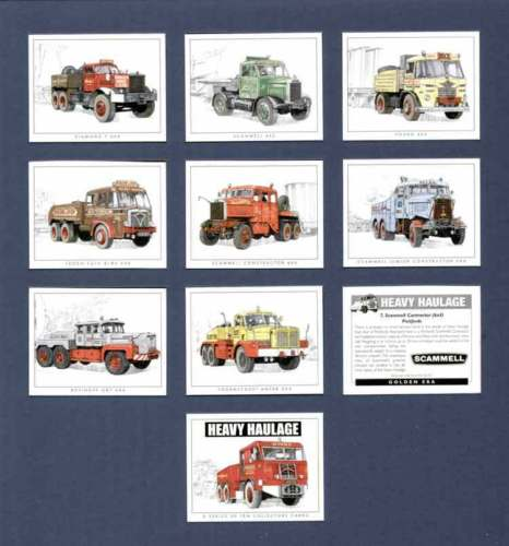 Golden Era - Set Of 10 Heavy Haulage Lorries - 2000