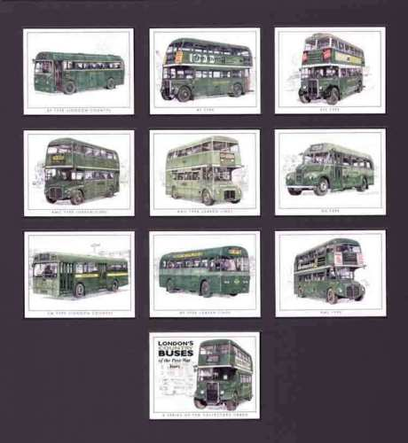 Golden Era - Set Of 10 London's Country Buses - 2000
