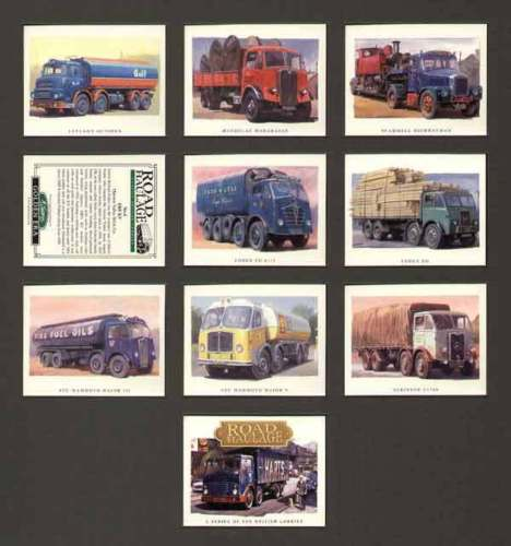 Golden Era - Set Of 10 Road Haulage (british Lorries)