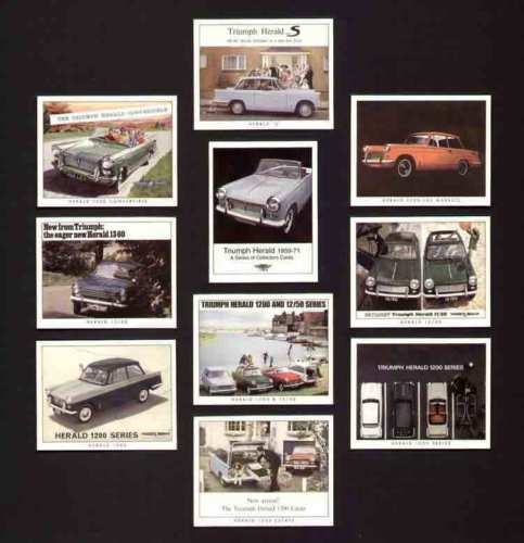 Golden Era - Set Of 10 Triumph Herald 1959-71 - 2007