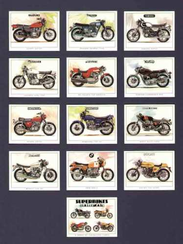 Golden Era - Set Of 12 Superbikes Of The 70's