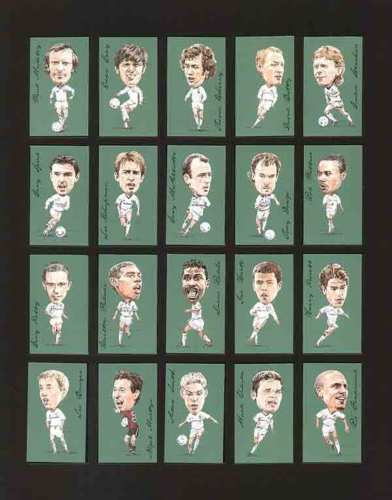 Golden Era - Set Of 21 Famous Footballers - Leeds Utd