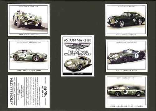Golden Era - Set Of 7 Aston Martin Competition Cars