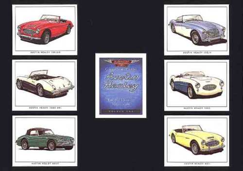 Golden Era - Set Of 7 Austin Healey Cards - 1995