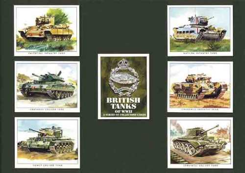 Golden Era - Set Of 7 British Tanks Of Wwii - 2000