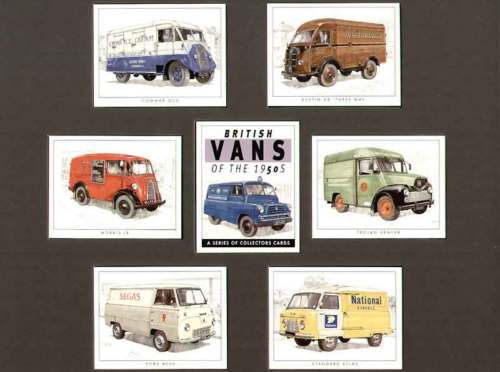 Golden Era - Set Of 7 British Vans Of The 1950's - 2002