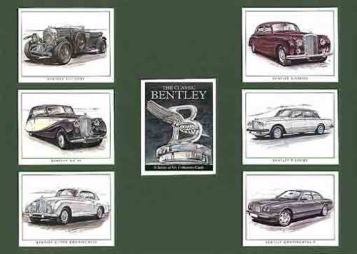 Golden Era - Set Of 7 Classic Bentley Cards - 1997