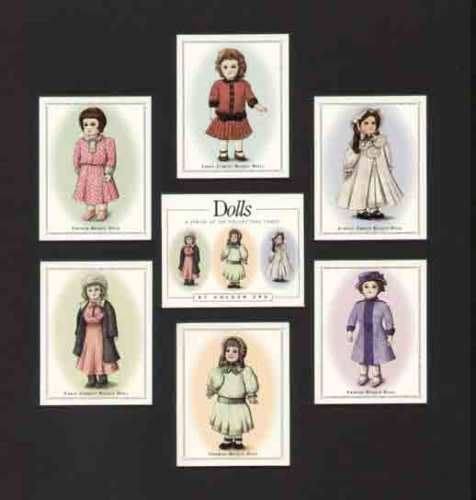 Golden Era - Set Of 7 Dolls Cards - 1996