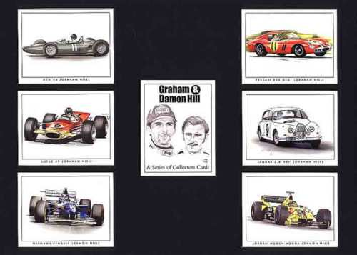Golden Era - Set Of 7 Graham & Damon Hill - 2000