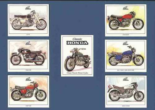 Golden Era - Set Of 7 Honda Motorcycles - 1999