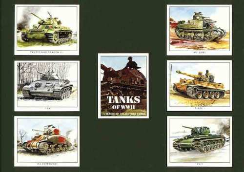 Golden Era - Set Of 7 Tanks Of Wwii - 2000