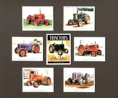 Golden Era - Set Of 7 Tractors Of The 1950's - 1999