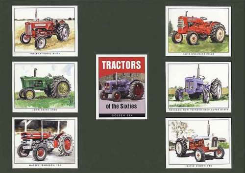 Golden Era - Set Of 7 Tractors Of The 1960's - 1999