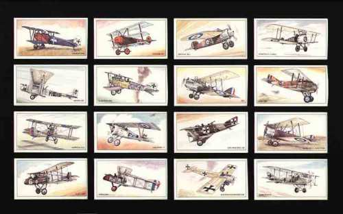Golden Era - Set Of L 25 Aircraft Of First World War
