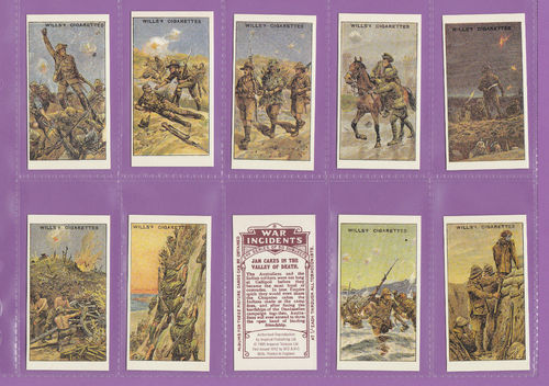 Imperial Publishing Ltd. - Set Of 50 Wills ' War Incidents, 2nd Series ' Cards