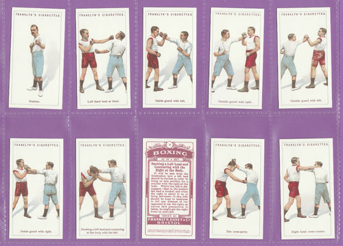 Imperial Publishing Ltd - Set Of 25 Franklyn Davey ' Boxing ' Cards