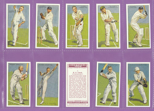 Imperial Publishing Ltd - Set Of 50 Player's ' Cricketers 1930 ' Cards