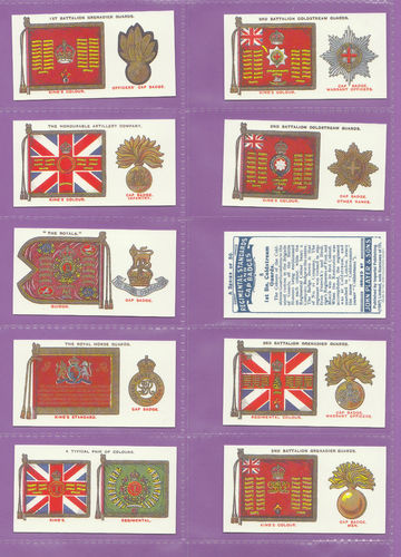 Imperial Publishing Ltd - Set Of 50 Player's ' Reg Stds & Cap Badges ' Cards
