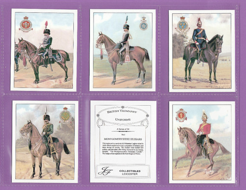 Jf Sporting Collectibles - Set Of L 24 British Yeomanry Uniforms - 2004