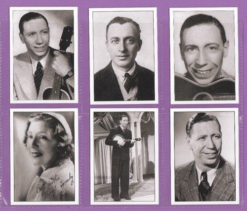 Jf Sporting Collectibles - Set Of Xl 24 George Formby Tribute