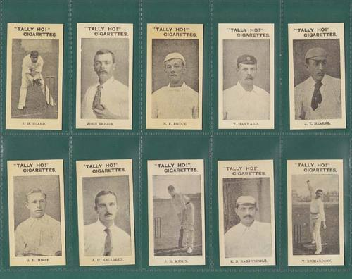 Nostalgia Classics - Set Of 13 - National (aust) ' English Cricket Team 1897-8 '