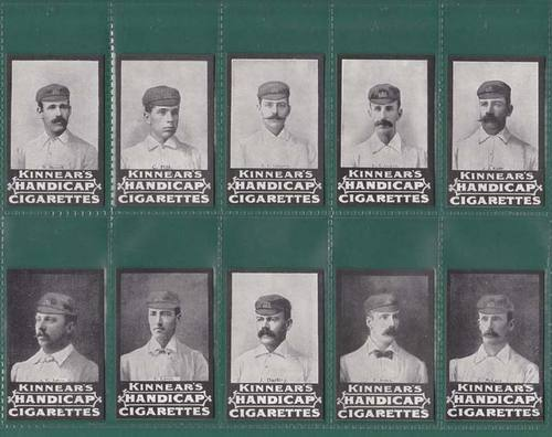 Nostalgia Classics - Set Of 15 - Kinnear ' Australian Cricket Team ' Cards