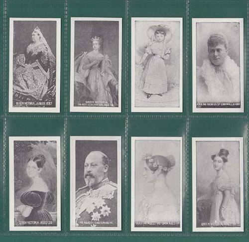 Nostalgia Classics - Set Of 16 - S.d.v. Tobacco ' British Royal Family ' Cards