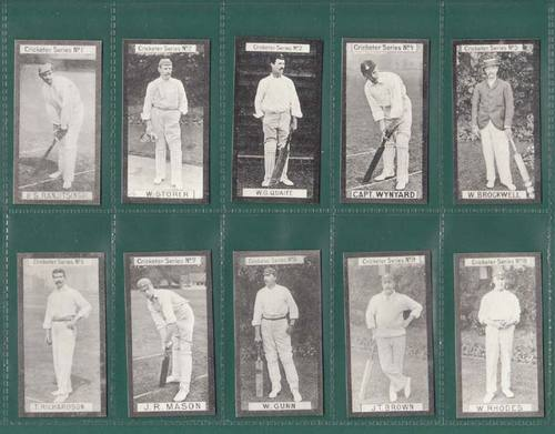 Nostalgia Classics - Set Of 30 - Clarke ' Cricketers Series ' Cards