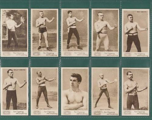 Nostalgia Classics - Set Of 35 - P. H. Mayo ( U.s.a. ) ' Prizefighters ' Cards