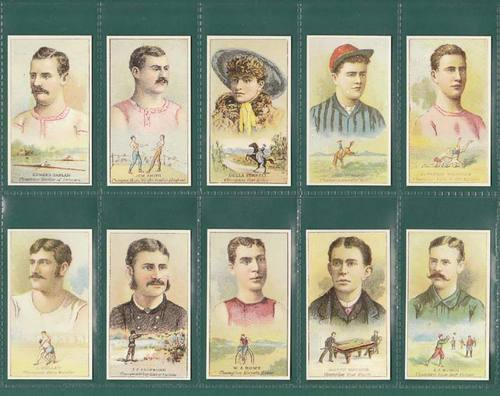 Nostalgia Classics - Set Of 50 - Kimball ( U.s.a. ) ' Champions Of Sports' Cards