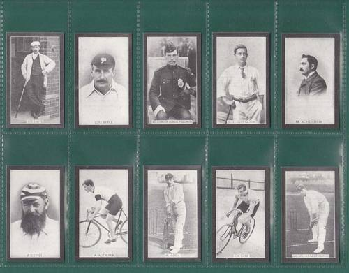 Nostalgia Classics - Set Of 50 - Smith ' Champions Of Sport ' Cards