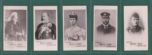 Nostalgia Classics - Set Of 5 - Taddy & Co. ' English Royalty ' Cards