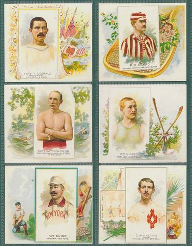 Nostalgia Classics - Set Of X 50 - Allen & Ginter ' World's Champions 2nd' Cards
