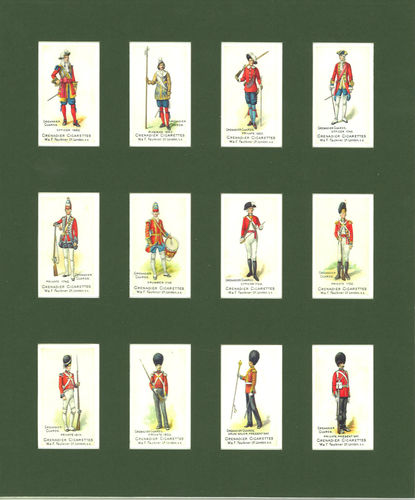 Nostalgia Reprints - Set Of 12 - Faulkner ' Grenadier Guards ' Cards