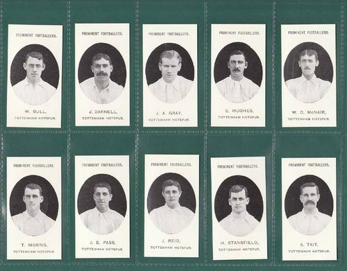 Nostalgia reprints - set of 15 - taddy ' footballers - west ham united ' cards