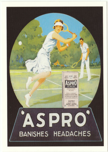 Robert Opie Advertising Postcard - Aspro