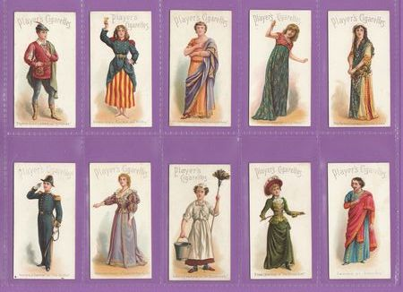 John Player & Sons - Set Of 25 - Actors & Actresses - 1898