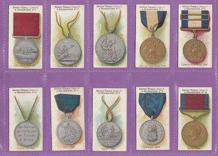 Taddy & Co. - Set Of 50 - British Medals & Decorations, Series 2 - 1912