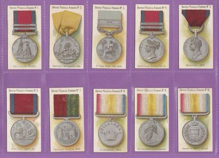 Taddy & Co. - Set Of 50 - British Medals & Ribbons - 1912