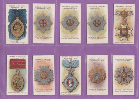 Taddy & Co. - Set Of 25 - Orders Of Chivalry, Second Series - 1912