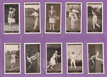 Set Of 25 - W. A. & A. C. Churchman - Lawn Tennis - 1928