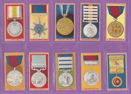 W. A. & A. C. Churchman - Set Of 50 - Medals - 1910