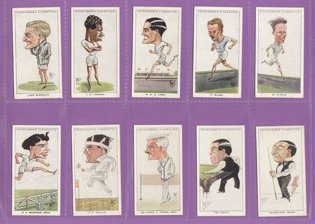 W. A. & A. C. Churchman - Set Of 50 - Men Of The Moment In Sport - 1928