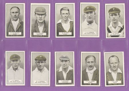 Set Of 25 - Cohen Weenen & Co. - Cricketers - 1926