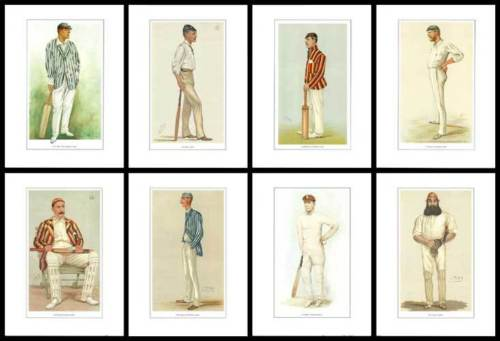 Trade Package - 10 Sets Of Vanity Fair Reprints - 8 Great Cricketers