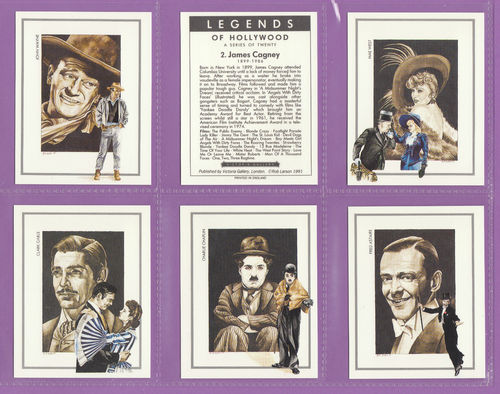 Victoria Gallery - Set Of 20 Large Legends Of Hollywood Cards - 1991.jpg