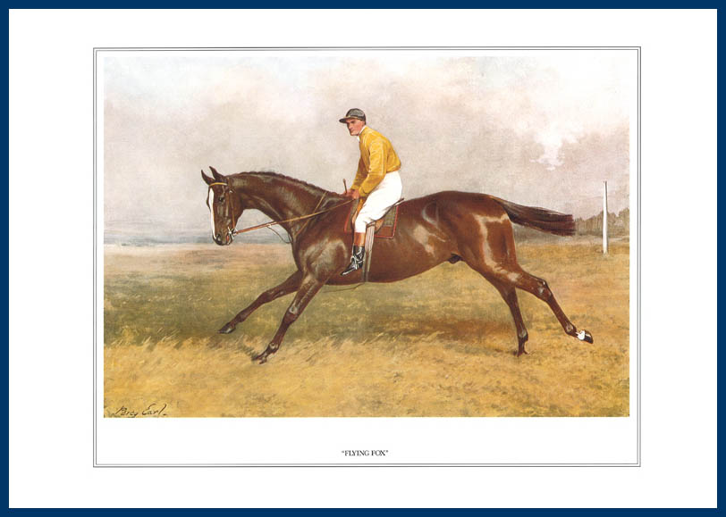 Pack Of 20 Prints - Vanity Fair Reprints - From Our Fantastic Set Of 16 Racehorses - Flying Fox