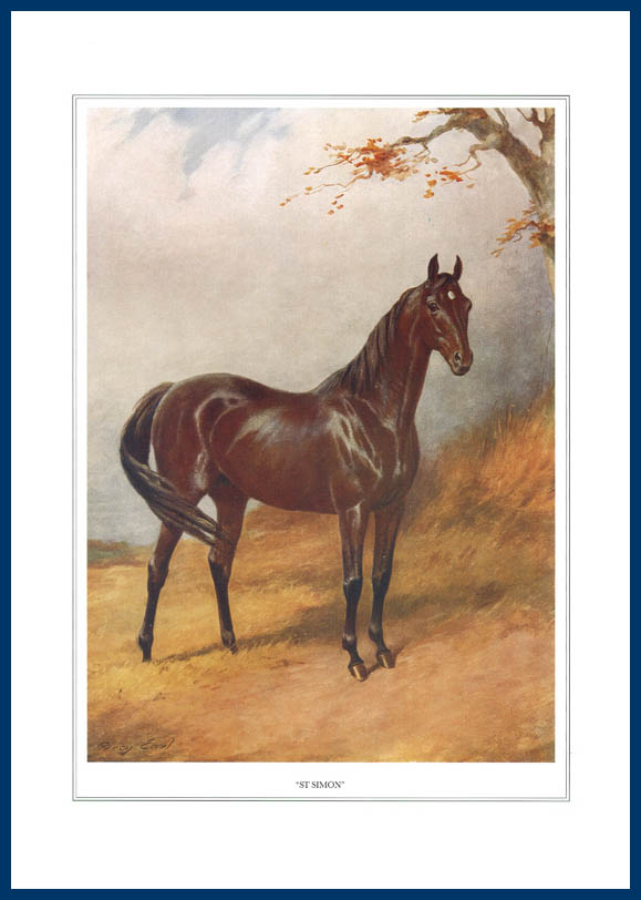 Pack Of 20 Prints - Vanity Fair Reprints - From Our Fantastic Set Of 16 Racehorses - St. Simon